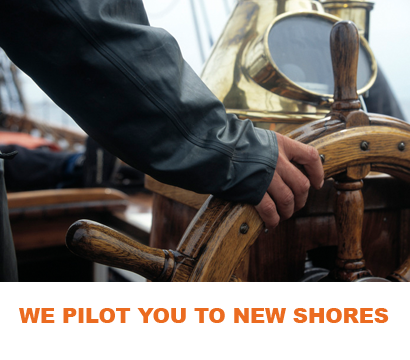we pilot you to new shores